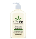 Hempz Sensitive Skin Body Moisturizer 17oz