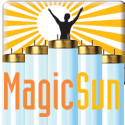 Magic Sun 23/160R FR71 160W Bipin Reflector