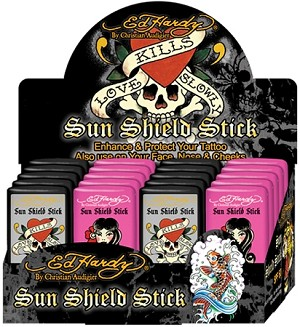 Ed Hardy SPF 50 Tattoo Stick 0.4oz