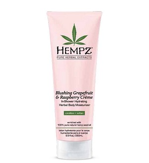 Blushing Grapefruit & Raspberry Crème in shower Body Hydrator 8.5oz