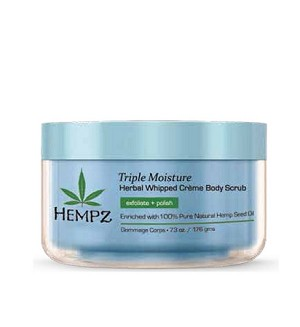 Triple Moisture Herbal Whipped Crème Body Scrub 7.3oz