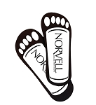 Norvell Disposable Cardboard Sunless Sticky Feet 25 Pack