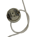 Lamp Socket Gy9,5 Plug In<br><i>For HP Lamps</i>