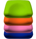 Foam Contoured Pillow <br> <i>Pick from 6 Colors</i>